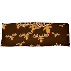 Christmas Reindeer Pattern Body Pillow Case Dakimakura (Two Sides)