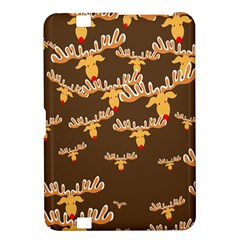 Christmas Reindeer Pattern Kindle Fire HD 8.9