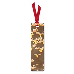 Christmas Reindeer Pattern Small Book Marks