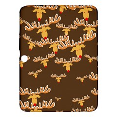 Christmas Reindeer Pattern Samsung Galaxy Tab 3 (10.1 ) P5200 Hardshell Case