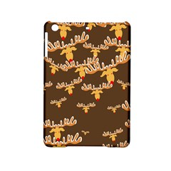 Christmas Reindeer Pattern iPad Mini 2 Hardshell Cases