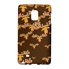Christmas Reindeer Pattern Galaxy Note Edge
