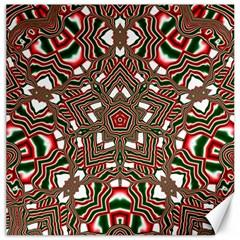 Christmas Kaleidoscope Canvas 20  x 20