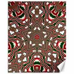Christmas Kaleidoscope Canvas 11  x 14