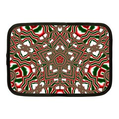 Christmas Kaleidoscope Netbook Case (Medium)