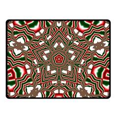 Christmas Kaleidoscope Fleece Blanket (Small)