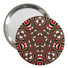 Christmas Kaleidoscope 3  Handbag Mirrors