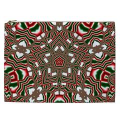Christmas Kaleidoscope Cosmetic Bag (XXL)
