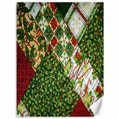 Christmas Quilt Background Canvas 36  x 48