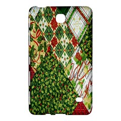Christmas Quilt Background Samsung Galaxy Tab 4 (8 ) Hardshell Case