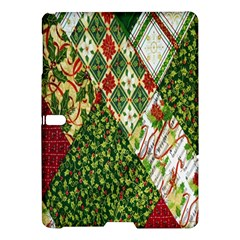 Christmas Quilt Background Samsung Galaxy Tab S (10 5 ) Hardshell Case