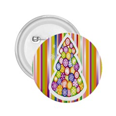 Christmas Tree Colorful 2 25  Buttons