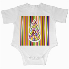 Christmas Tree Colorful Infant Creepers