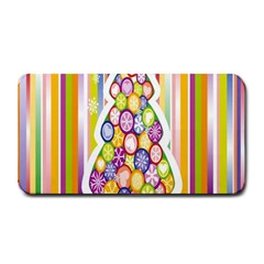 Christmas Tree Colorful Medium Bar Mats