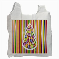 Christmas Tree Colorful Recycle Bag (One Side)