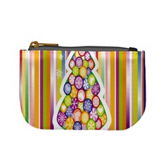 Christmas Tree Colorful Mini Coin Purses