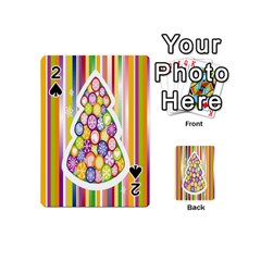 Christmas Tree Colorful Playing Cards 54 (Mini)