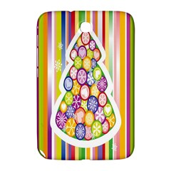 Christmas Tree Colorful Samsung Galaxy Note 8.0 N5100 Hardshell Case