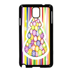 Christmas Tree Colorful Samsung Galaxy Note 3 Neo Hardshell Case (Black)