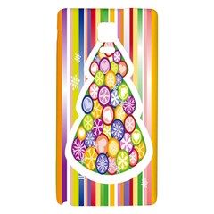 Christmas Tree Colorful Galaxy Note 4 Back Case