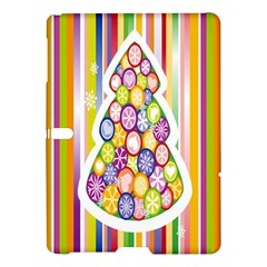 Christmas Tree Colorful Samsung Galaxy Tab S (10 5 ) Hardshell Case