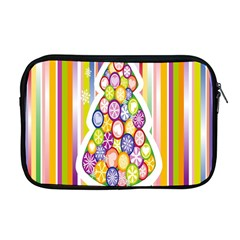 Christmas Tree Colorful Apple Macbook Pro 17  Zipper Case