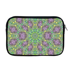 Modern Ornate Geometric Pattern Apple Macbook Pro 17  Zipper Case