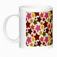 Christmas Star Pattern Night Luminous Mugs