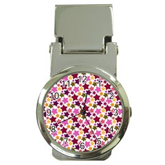 Christmas Star Pattern Money Clip Watches