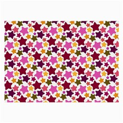 Christmas Star Pattern Large Glasses Cloth