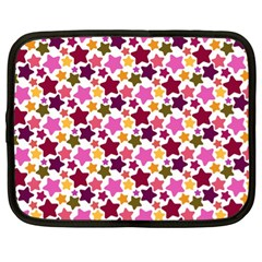 Christmas Star Pattern Netbook Case (xl)