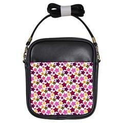 Christmas Star Pattern Girls Sling Bags