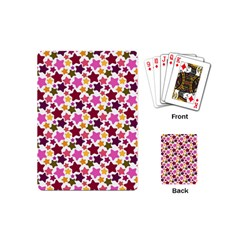 Christmas Star Pattern Playing Cards (Mini)