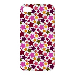 Christmas Star Pattern Apple Iphone 4/4s Hardshell Case