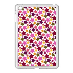 Christmas Star Pattern Apple iPad Mini Case (White)