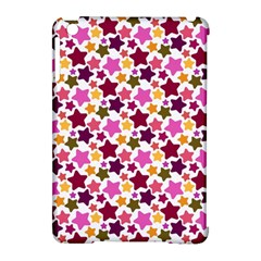 Christmas Star Pattern Apple iPad Mini Hardshell Case (Compatible with Smart Cover)