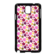 Christmas Star Pattern Samsung Galaxy Note 3 Neo Hardshell Case (Black)