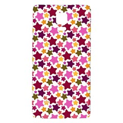 Christmas Star Pattern Galaxy Note 4 Back Case