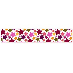Christmas Star Pattern Flano Scarf (Large)