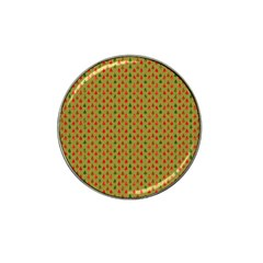 Christmas Trees Pattern Hat Clip Ball Marker (4 pack)