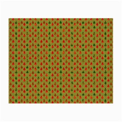 Christmas Trees Pattern Small Glasses Cloth