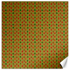 Christmas Trees Pattern Canvas 20  x 20