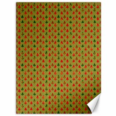 Christmas Trees Pattern Canvas 36  x 48