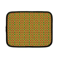 Christmas Trees Pattern Netbook Case (small)