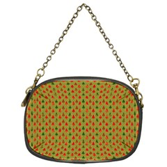 Christmas Trees Pattern Chain Purses (One Side)