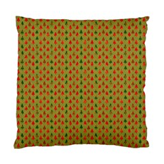 Christmas Trees Pattern Standard Cushion Case (Two Sides)