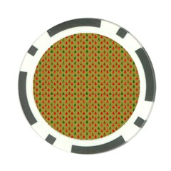 Christmas Trees Pattern Poker Chip Card Guard (10 Pack)