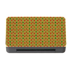 Christmas Trees Pattern Memory Card Reader with CF