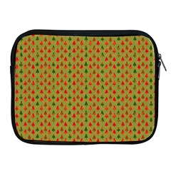 Christmas Trees Pattern Apple iPad 2/3/4 Zipper Cases