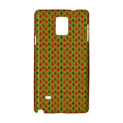 Christmas Trees Pattern Samsung Galaxy Note 4 Hardshell Case